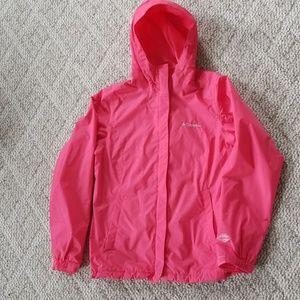 Columbia jacket orange/pink medium!